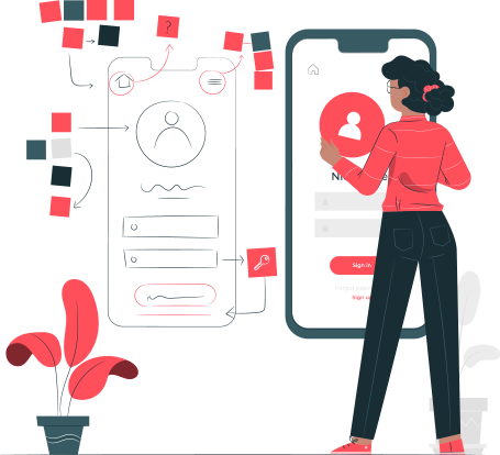UI / UX interface designer